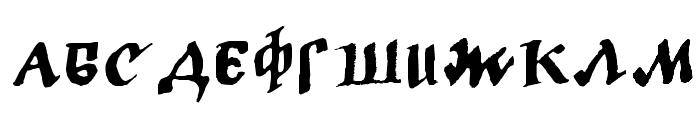LC Bagira Font UPPERCASE