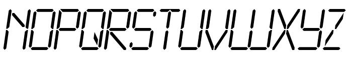 LCD2 Light Font UPPERCASE