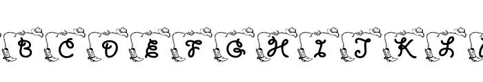 LCR Cowboy's Rest Font LOWERCASE
