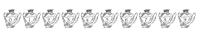LCR Croaker King Font OTHER CHARS