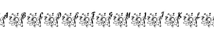 LCR Joyful Noise Font UPPERCASE