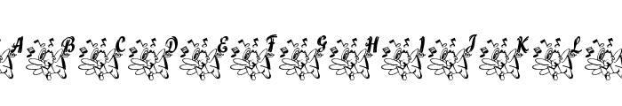 LCR Joyful Noise Font LOWERCASE