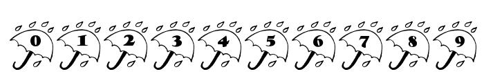 LCR Rainy Daze Font OTHER CHARS
