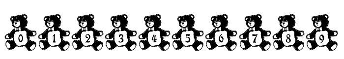 LCR Teddy Tyme Font OTHER CHARS