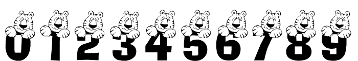 LCR Tiger Cat Font OTHER CHARS