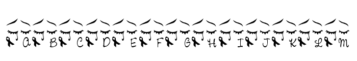 LCR We Remember LSF Font LOWERCASE