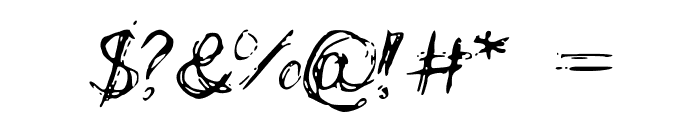 LCScribbles Font OTHER CHARS