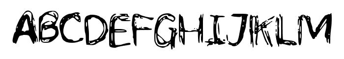 LCScribbles Font UPPERCASE