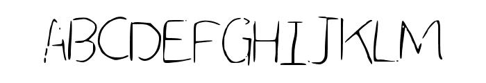 LCSimple Font UPPERCASE