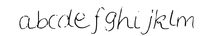 LCSimple Font LOWERCASE