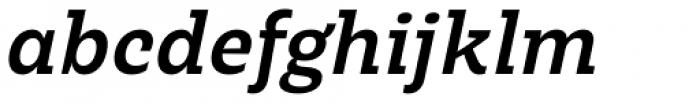 LC Merkén Bold Italic Font LOWERCASE