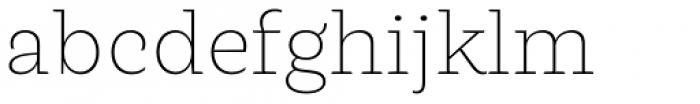 LC Merkén Extra Light Font LOWERCASE