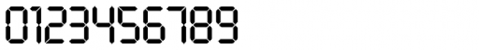 LCD SH Regular Font OTHER CHARS