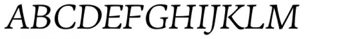 LCT Sbire Italic Font UPPERCASE