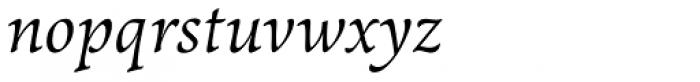 LCT Sbire Italic Font LOWERCASE