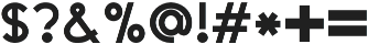LD-Boldini Regular otf (700) Font OTHER CHARS