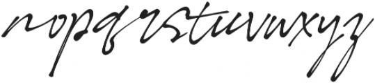 LD-Bonita otf (700) Font LOWERCASE