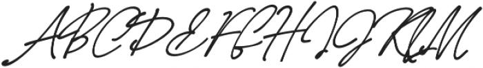 LD-Casablanca-calligraphy otf (400) Font UPPERCASE