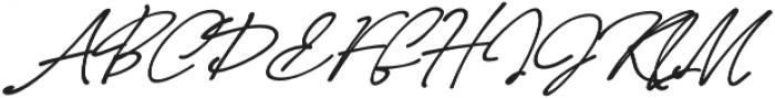 LD-Casablanca-calligraphy otf (900) Font UPPERCASE