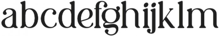 LD-Charmini Light otf (300) Font LOWERCASE