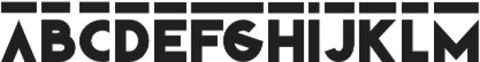 LD-Klark otf (500) Font LOWERCASE