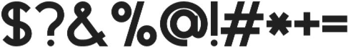 LD-Klark otf (900) Font OTHER CHARS