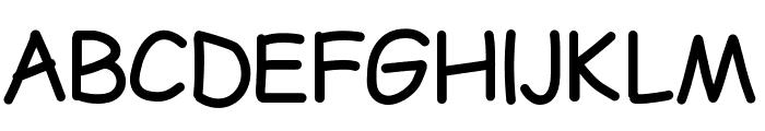 LDFComicSans Font UPPERCASE