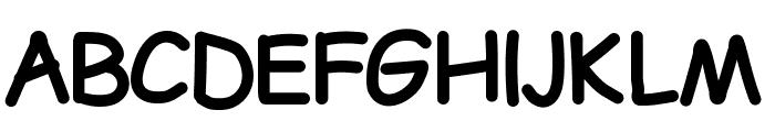 LDFComicSansBold Font UPPERCASE