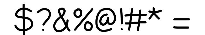 LDFComicSansLight Font OTHER CHARS
