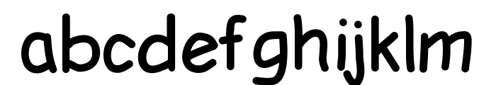 LDFComicSans Font LOWERCASE