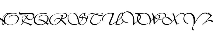 LDS Script Italic Font UPPERCASE