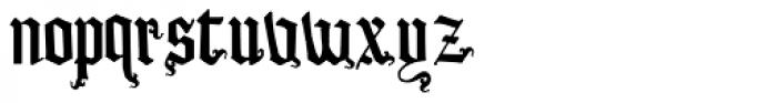 LD Castle Font LOWERCASE
