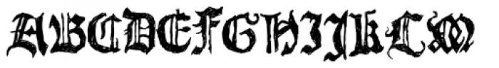LD Count Fontula Font UPPERCASE