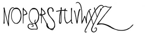 LD Edward Font UPPERCASE