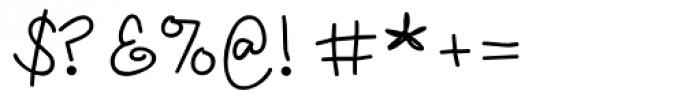 LD Fundamental Font OTHER CHARS