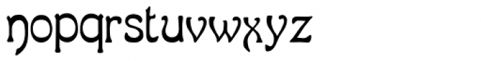 LD Gypsy Font LOWERCASE