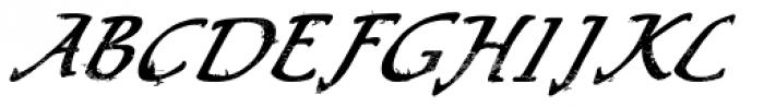 LD Puck Font UPPERCASE