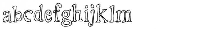 LD Roman Sketch Font LOWERCASE