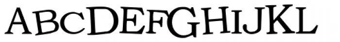 LD Unique Font UPPERCASE