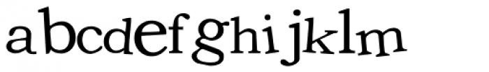 LD Unique Font LOWERCASE