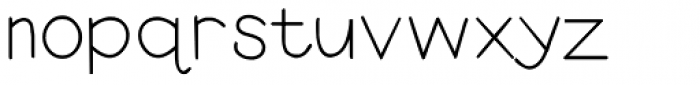 LDElementary Font LOWERCASE