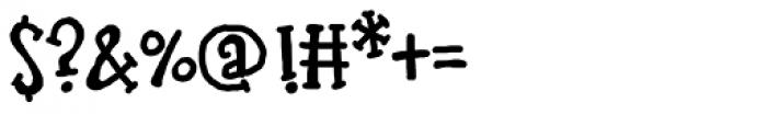 LDJ Bash Font OTHER CHARS