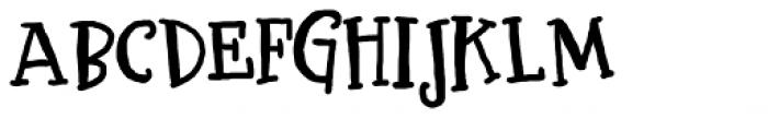 LDJ Bash Font UPPERCASE