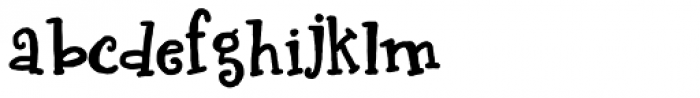 LDJ Bash Font LOWERCASE