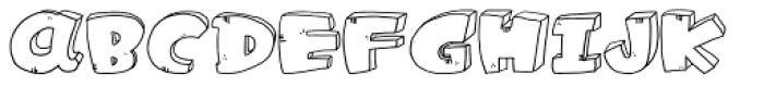 LDJ Cool Play Font UPPERCASE