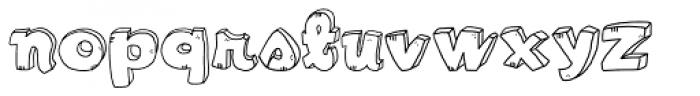 LDJ Cool Play Font LOWERCASE