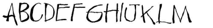 LDJ Cooligraphy Font UPPERCASE