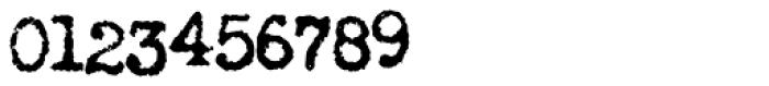 LDUnderwood5 Font OTHER CHARS