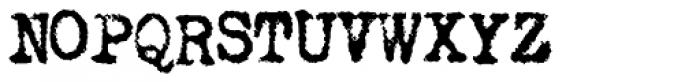 LDUnderwood5 Font UPPERCASE