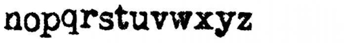 LDUnderwood5 Font LOWERCASE